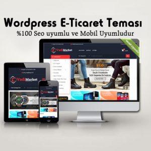 WordPress Eticaret Teması