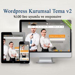 WordPress Kurumsal Şirket Teması